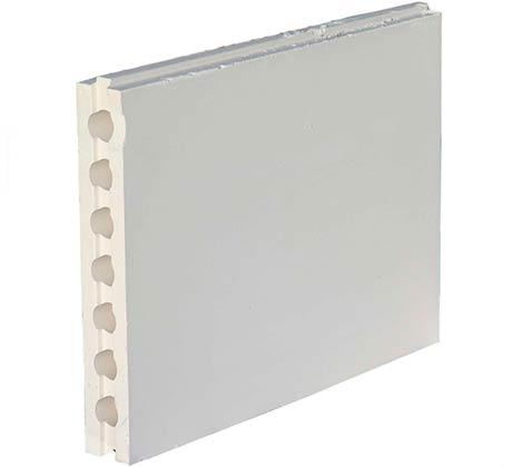 Пазогребневая плита пустотелая влагостойкая 667х500х80 мм